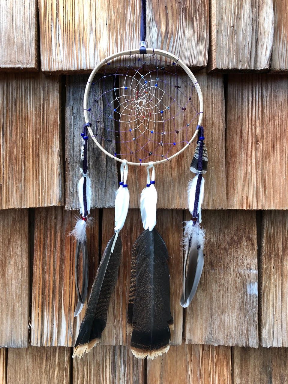 Wooden Hoop Dreamcatcher