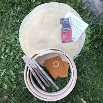 Moose Hide Hand Drum Kit
